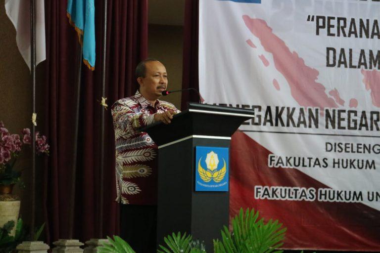 Sambutan Dekan Fakultas Hukum 17 Agustus 1945 Semarang