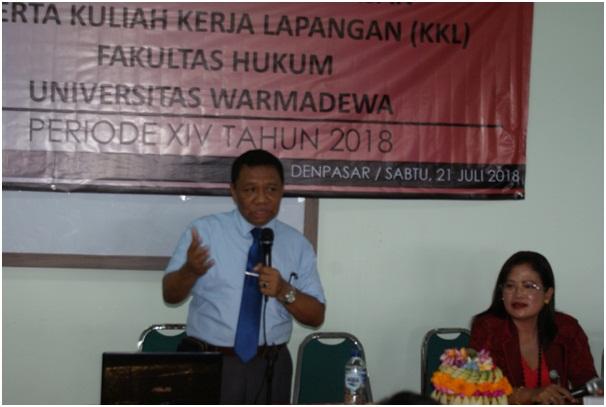 KKL Reg B Universitas Warmadewa