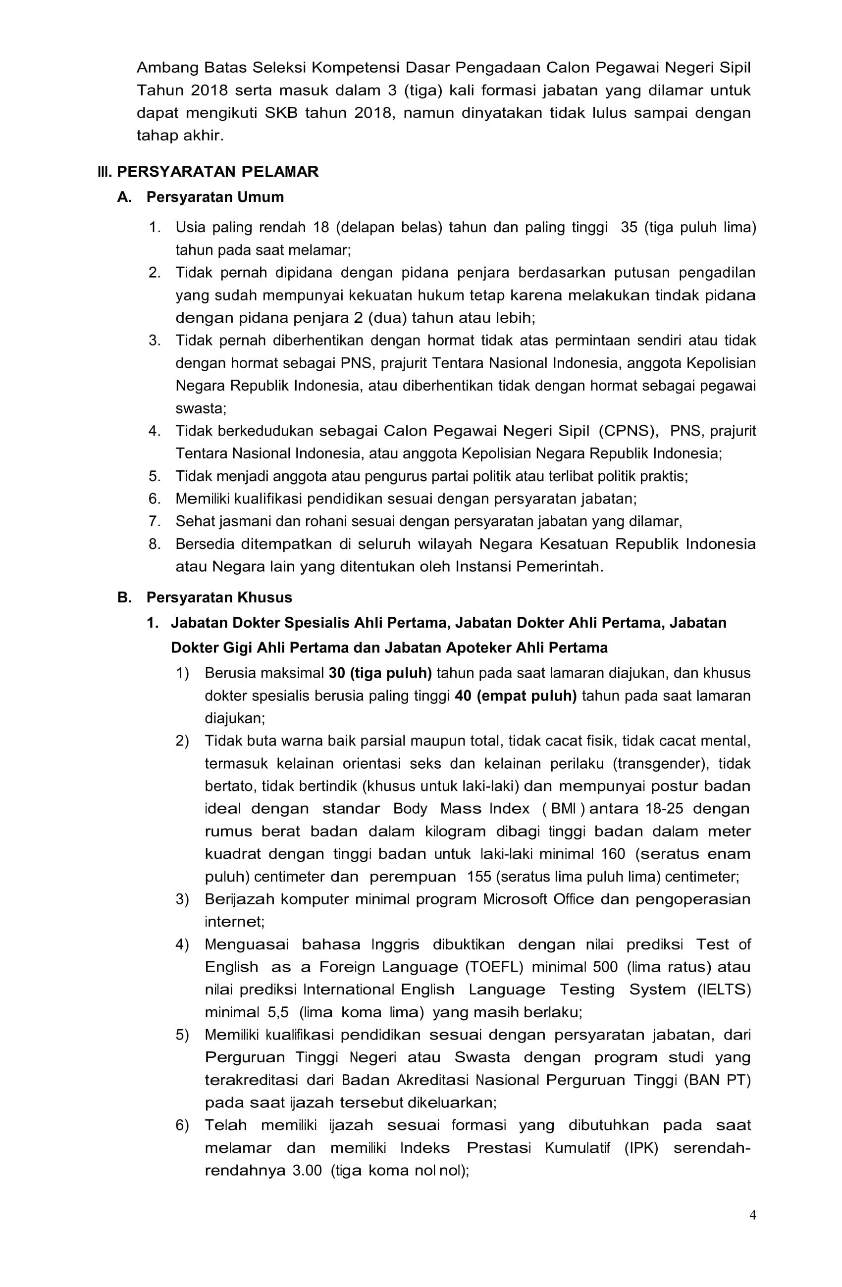 PENGUMUMAN PENGADAAN CPNS KEJAKSAAN RI 2019-07